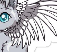 Angel Cat Chibi Sticker