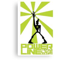 powerline  Canvas Print
