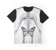 Abstract Skeleton Graphic T-Shirt