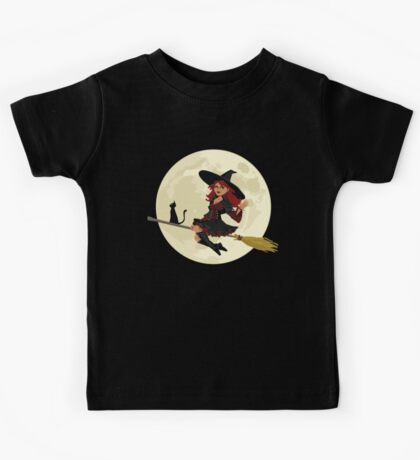 Red Witch Kids Tee