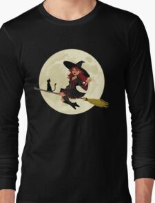 Red Witch Long Sleeve T-Shirt