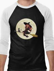 Red Witch Men's Baseball ¾ T-Shirt