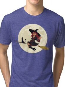 Red Witch Tri-blend T-Shirt