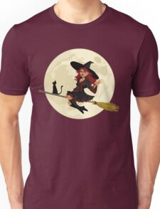 Red Witch Unisex T-Shirt
