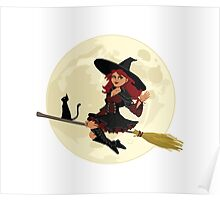 Red Witch Poster