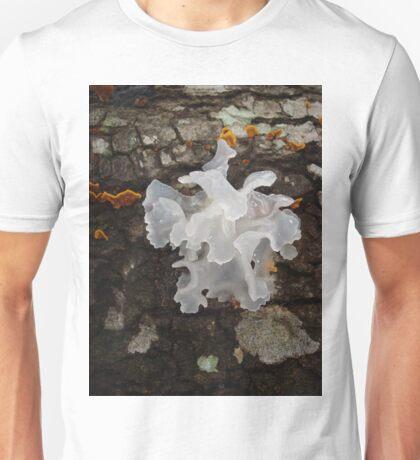 Pretty, frilly fungus (Tremella fuciformis) T-Shirt