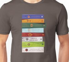 Stack of Outlander books/Diana Gabaldon Unisex T-Shirt