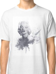 Marilyn Monroe Graphic Print Classic T-Shirt