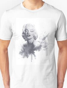 Marilyn Monroe Graphic Print Unisex T-Shirt