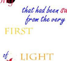 We were a Song Sticker