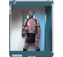TROY - Leathered  Kilted Dreams iPad Case/Skin
