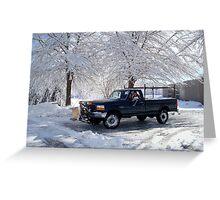 Snowshovel Pal    ^ Greeting Card