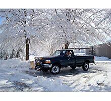 Snowshovel Pal    ^ Photographic Print