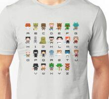 War of Stars Alphabet Unisex T-Shirt