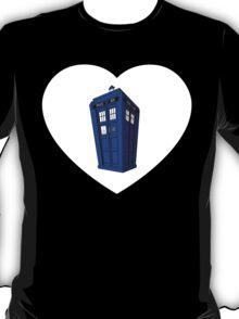 Police Box Heart T-Shirt