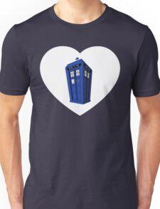 Tardis Heart Unisex T-Shirt
