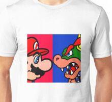 Mario vs King Koopa Unisex T-Shirt