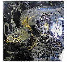 Quan Yin with energy Poster