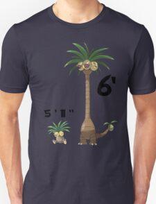 "Exeggutor 5'11"" 6' 5 feet 11 inches 6 feet meme Unisex T-Shirt"