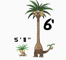 "Exeggutor 5'11"" 6' 5 feet 11 inches 6 feet meme Classic T-Shirt"