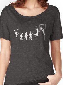 Basketball Evolution Funny T Shirt Women's Relaxed Fit T-Shirt