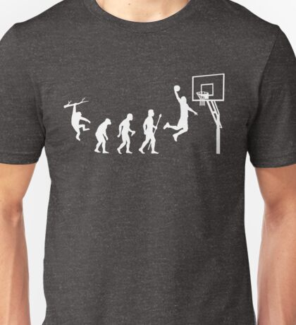 Basketball Evolution Funny T Shirt Unisex T-Shirt