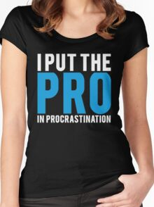 Procrastination Women's Fitted Scoop T-Shirt