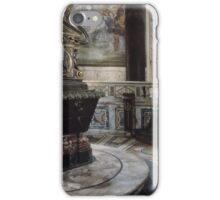 C4 Constantine Baptistry of Cathedral of Rome, S Giovanni Lateran Rome Italy 19840725 0037  iPhone Case/Skin