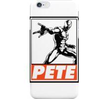 Spider-Man Pete Obey Design iPhone Case/Skin