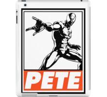 Spider-Man Pete Obey Design iPad Case/Skin