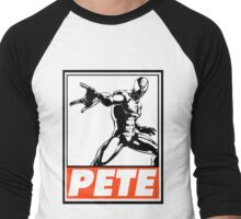 Spider-Man Pete Obey Design Men's Baseball ¾ T-Shirt