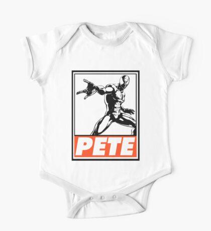 Spider-Man Pete Obey Design One Piece - Short Sleeve