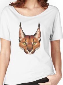 Caracal Face  Women's Relaxed Fit T-Shirt
