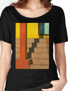staircase shadow Women's Relaxed Fit T-Shirt