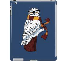Hipster Owl iPad Case/Skin