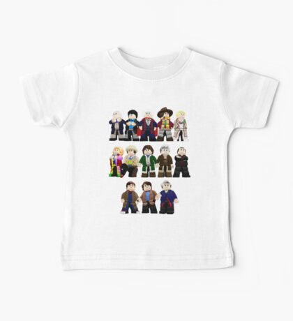Doctor Who - Toy Doctors Baby Tee