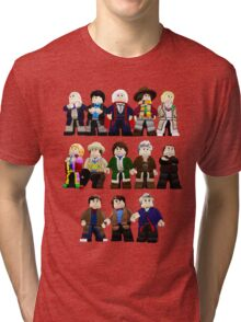 Doctor Who - Toy Doctors Tri-blend T-Shirt