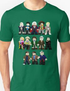 Doctor Who - Toy Doctors Unisex T-Shirt