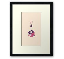 ElectroVideo Gamecube (Purple) Framed Print