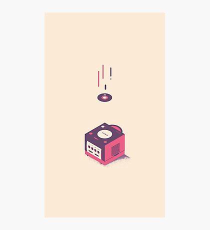 ElectroVideo Gamecube (Purple) Photographic Print
