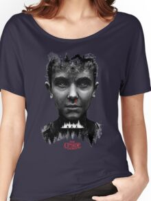 The Upside Down Tribute Painting Art Women's Relaxed Fit T-Shirt