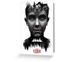 The Upside Down Tribute Painting Art Greeting Card