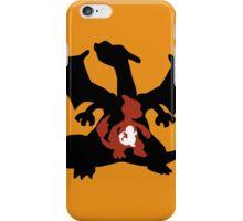 Charmander - Charmeleon - Charizard Evolution iPhone Case/Skin