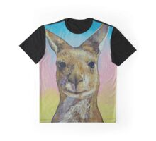 Kangaroo Graphic T-Shirt