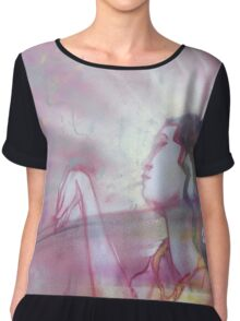 A Woman Chiffon Top