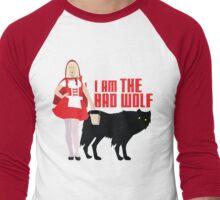 I Am The Bad Wolf Men's Baseball ¾ T-Shirt