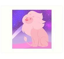 Steven's Lion  Art Print