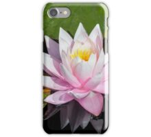 Light Pink Water Lily iPhone Case/Skin