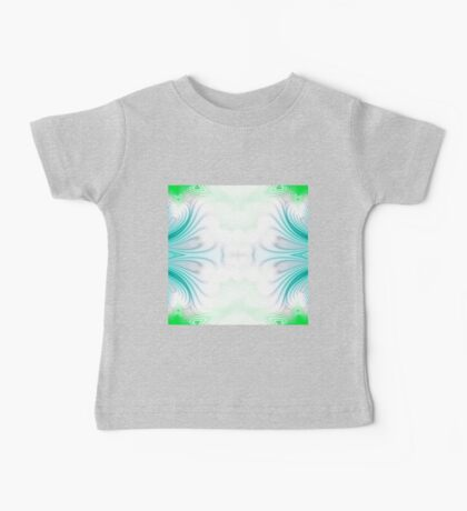 Blue and green abstract pattern background Baby Tee