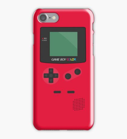 Retro Video Game Boy Console   iPhone Case/Skin
